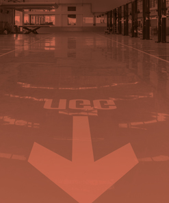 RESINS FOR INDUSTRIAL FLOORS