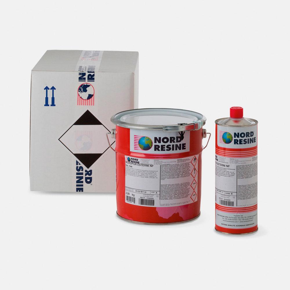 Detergente Per Cotto Esterno nordpur esterni - nordresine - soluzioni per edilizia